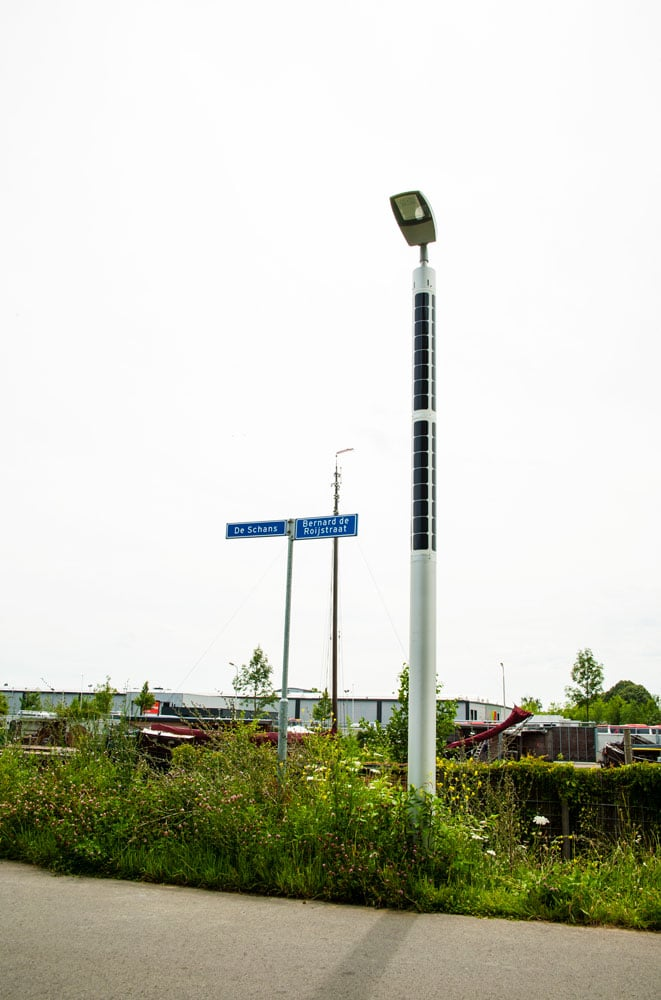 Soluxio smart solar street lighting