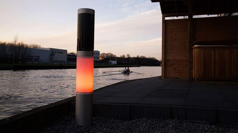 NxT solar bollard - solar outdoor lighting