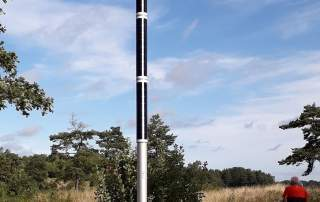 Solar Wifi pole at visitor center