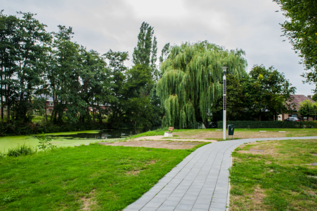 Soluxio solar landscape lighting in dutch municipality